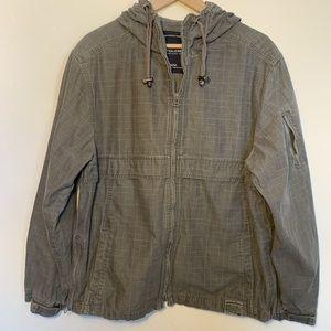 Vintage y2k Nautica jeans jacket houndstooth 90s